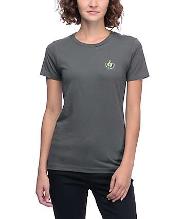 A-Lab Take Me Thumbs Up Dark Grey T-Shirt