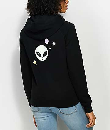 A-Lab Tery Keep It Real Black Hoodie