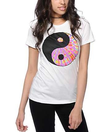 A-Lab Tie Dye Yin Yang T-Shirt