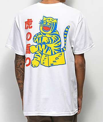 A-Lab Tiger Style White T-Shirt