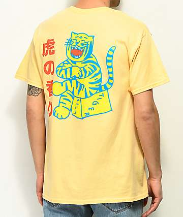 A-Lab Tiger Style camiseta naranja clara