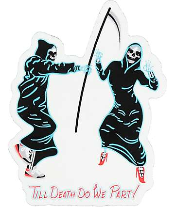 A-Lab Till Death Do We Party Sticker