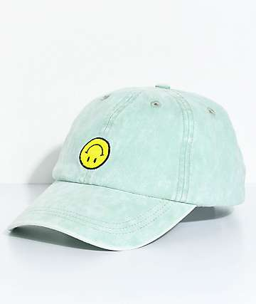 A-Lab Upside Down Smile Face Strapback Hat