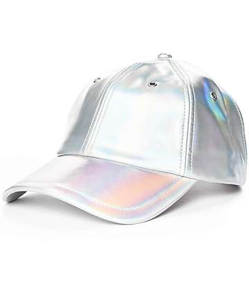 A-Lab Veda Iridescent Strapback Hat