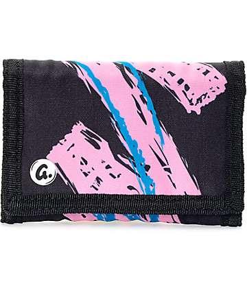 A-Lab Whoomp Black Tri Fold Wallet
