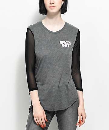 A-Lab Zanna Youre Weird camiseta con mangas de malla