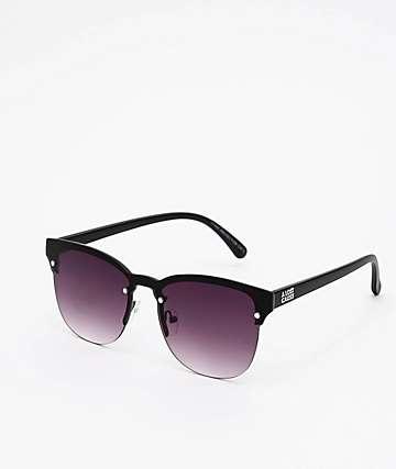 A Lost Cause All Night Black & Black Gradient Sunglasses
