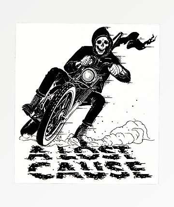 A Lost Cause Corner Reaper Sticker