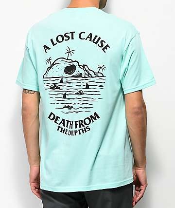 A Lost Cause From The Depths Mint T-Shirt