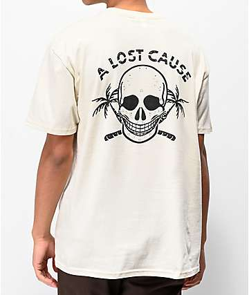 A Lost Cause Lazy Day Bone White T-Shirt