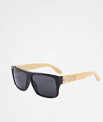 A Lost Cause Lineup Black & Brown Sunglasses