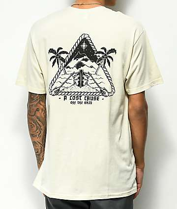A Lost Cause Off The Grid Natural T-Shirt