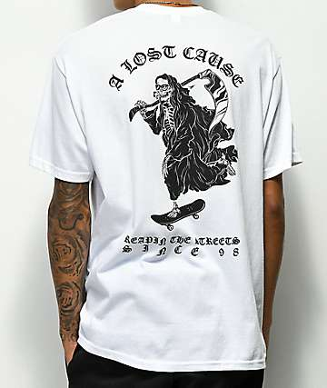 A Lost Cause Street Reapin White T-Shirt