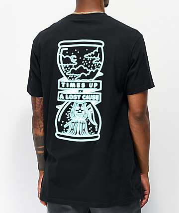 A Lost Cause Times Up Black T-Shirt