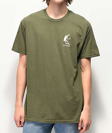 A Lost Cause Traveler Dark Green T-Shirt