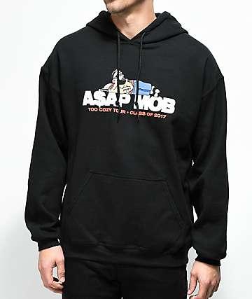 ASAP Mob Too Cozy Black Hoodie