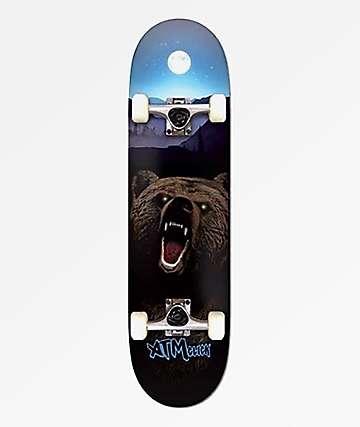 """ATM Bear 7.25"""" Skateboard Complete"""