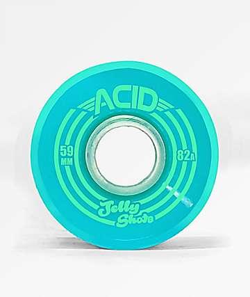 ATM Jelly Shot Acid 59mm 82a Aqua Skateboard Wheels
