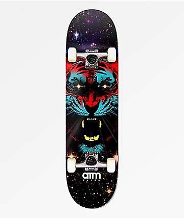 """ATM Space Tiger 7.5"""" Skateboard Complete"""