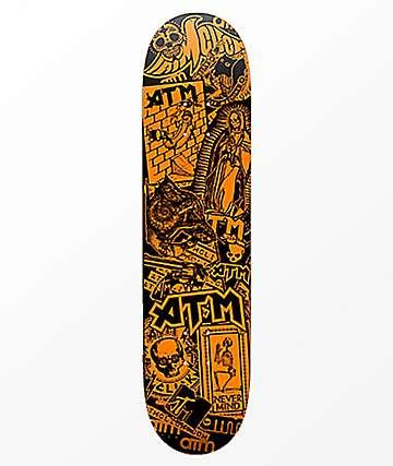 "ATM Sticker 8.25"" Skateboard Deck"
