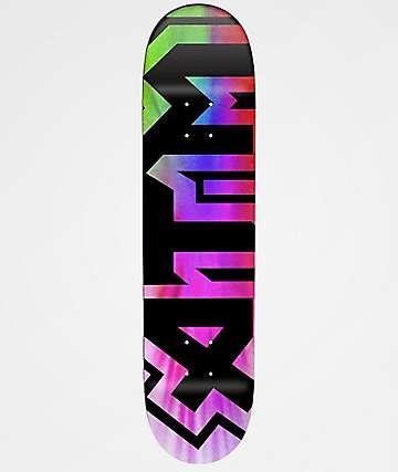 """ATM Tie Dye 7.8"""" Skateboard Deck"""