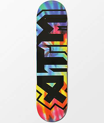 "ATM Tie Dye Black 8.0"" tabla de skate"
