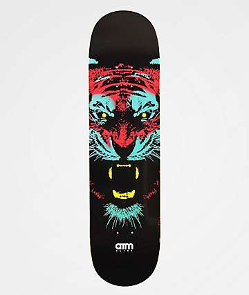 "ATM Tiger 7.75"" Skateboard Deck"