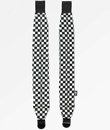 Acembly Build Your BKPK Black & White Checkered Straps