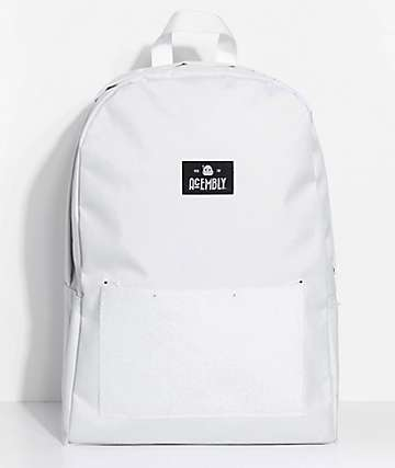 Acembly Build Your BKPK White 13.8L Bag