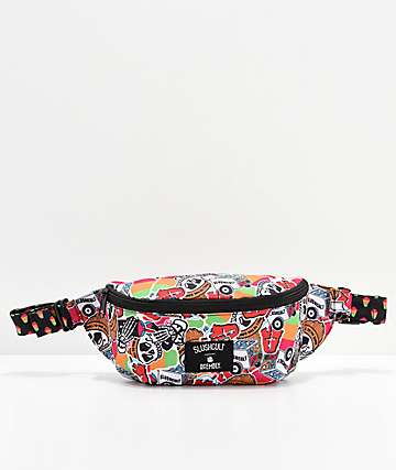 Acembly x Slushcult Collage Cups Fanny Pack