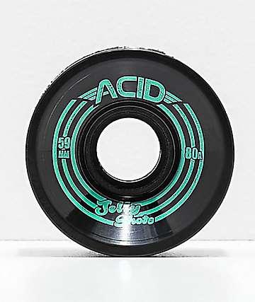Acid Jelly Shots Black 59mm 80a Wheels