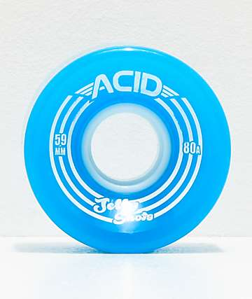Acid Jelly Shots Blue 59mm 82a Cruiser Wheels