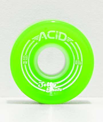 Acid Jelly Shots Green 59mm 82a Cruiser Wheels
