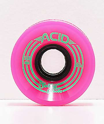 Acid Jelly Shots Pink 59mm 80a Wheels