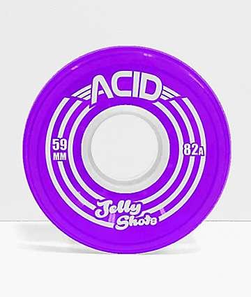 Acid Jelly Shots Purple 59mm 82a Skateboard Wheels