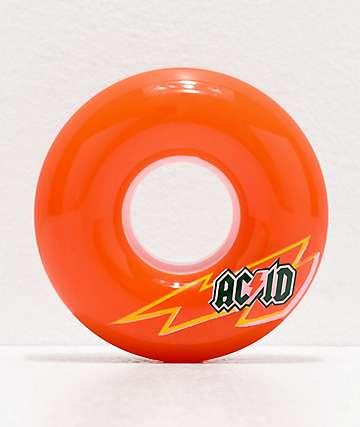 Acid Skaterade 56mm 86a Citrus Orange Skateboard Wheels