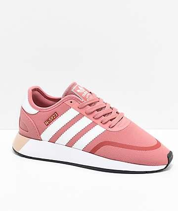 Adidas N-5923 CLS zapatos en rosa ceniza y blanco