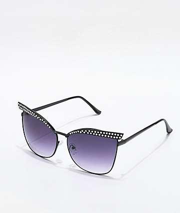 Aim gafas de sol ojo de gato en negro