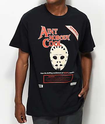 Ain't Nobody Cool Death Face Black T-Shirt