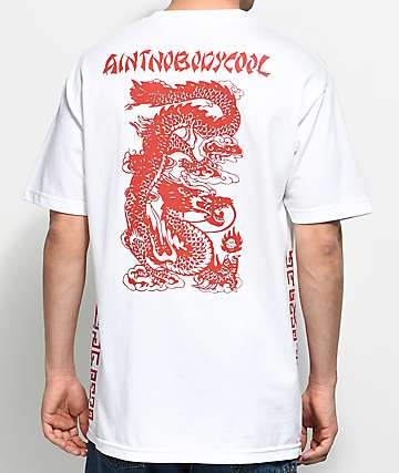 Ain't Nobody Cool Takeout White T-Shirt