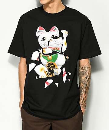 Ain't Nobody Cool Unlucky Cat Black T-Shirt