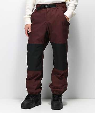 Airblaster Elastic Boss 15K pantalones de snowboard color caoba