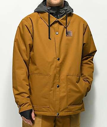Airblaster Grizzly 10K chaqueta de snowboard marrón