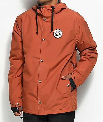 Airblaster Modern Athlete 10K chaqueta de snowboard roja