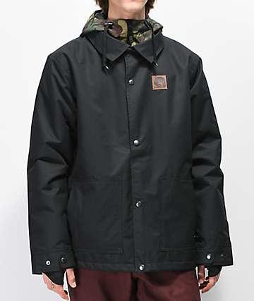 Airblaster Work 10K chaqueta de snowboard negra