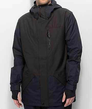 Airblaster Yeti Vintage Black Stretch 15K Snowboard Jacket