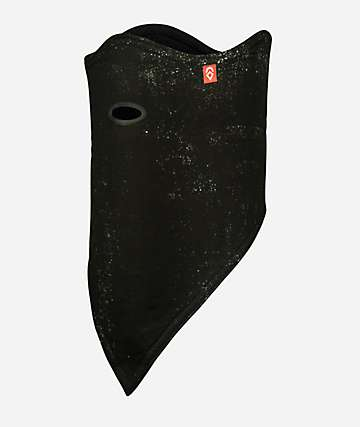 Airhole Black Splatter 10K Softshell Facemask