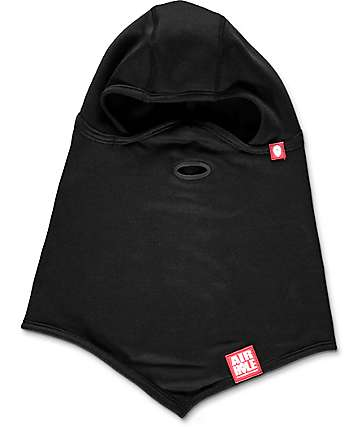 Airhole Standard 2 Layer Black Balaclava