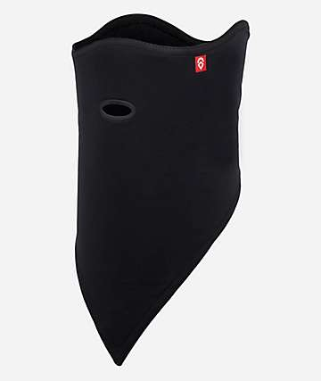 Airhole Standard 2 Layer Black Facemask
