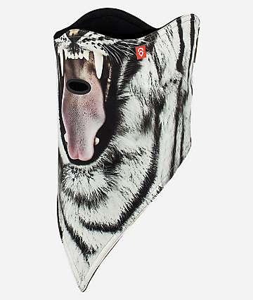 Airhole mascarilla de dos capas de tigre
